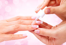 Manicure, Hands spa Royalty Free Stock Photography