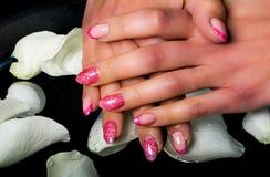 Manicure i gwóźdź sztuka Fotografia Royalty Free