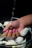 Manicure i gwóźdź sztuka Obraz Royalty Free