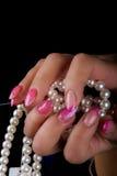 Manicure i gwóźdź sztuka Zdjęcie Royalty Free