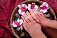 Manicure i pedicure Fotografia Stock
