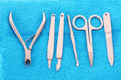 Manicure instruments Stock Photography