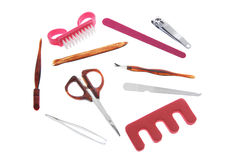 Manicure Items Royalty Free Stock Photo