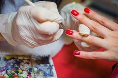 Manicure. Royalty Free Stock Photo