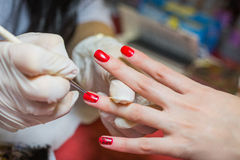 Manicure. Royalty Free Stock Photography