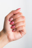 Manicure and nail art Stock Image