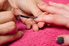Manicure nail Royalty Free Stock Photo