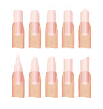 Manicure Nail shape Stock Photo