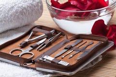 Manicure Narzędzia Fotografia Stock