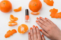 Manicure natural Imagens de Stock Royalty Free