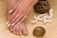 Manicure-Pedicure Royalty Free Stock Image