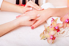 Manicure and pedicure Royalty Free Stock Photography