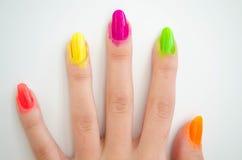 Manicure process Royalty Free Stock Image