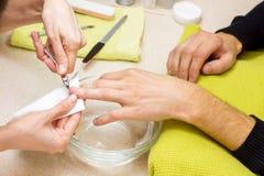 Manicure professionisti Fotografia Stock