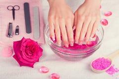 Manicure salon Royalty Free Stock Image