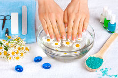 Manicure salon Royalty Free Stock Image