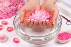 Manicure salon Stock Photography