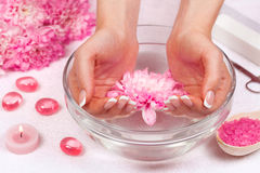 Manicure salon Royalty Free Stock Photography