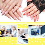 Manicure set Royalty Free Stock Image