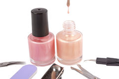 Manicure set Royalty Free Stock Photography