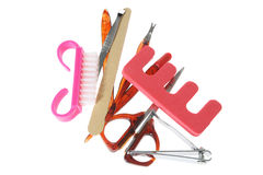 Manicure Set Stock Image