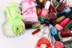 Manicure set Stock Image