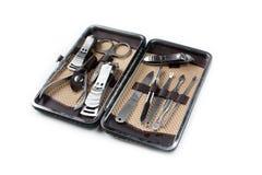 Manicure set tools Stock Photography