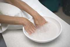 Manicure spa Stock Photography