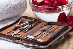 Manicure Tools Stock Photography