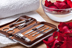 Manicure Tools Stock Images