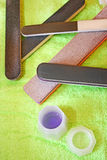 Manicure tools Stock Photo