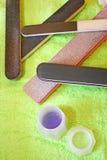 Manicure tools Stock Photo