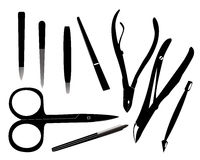 Manicure tools Royalty Free Stock Photo
