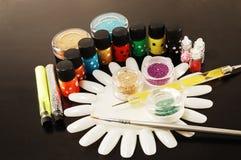 Manicure'u Gwoździa Ręka Obrazy Stock