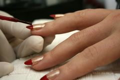 Manicure1 Images stock