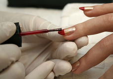 Manicure2 Foto de Stock Royalty Free