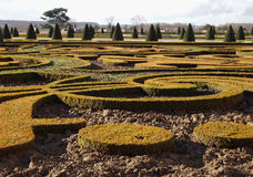 Manicured Garden at Palais de Versailles. France Royalty Free Stock Photos