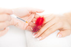 Manicured Hands Royalty Free Stock Images