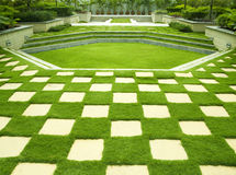 Manicured lawn Royalty Free Stock Photography