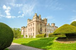 Manicured lawns outside Hutton in the Forest, Cumbria, England Stock Photo