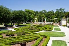 Manicured ornamental garden Royalty Free Stock Photos