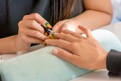manicures imagen de archivo libre de regalías