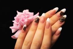 Manicures royalty-vrije stock afbeelding