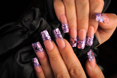 Manicures stock foto