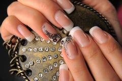 Manicures royalty-vrije stock foto's