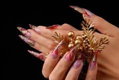Manicures stock fotografie