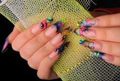 Manicures Stock Photo