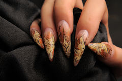 Manicures royalty-vrije stock foto