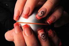 Manicures Royalty Free Stock Image