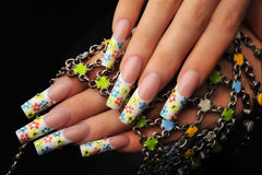 Manicures stock image